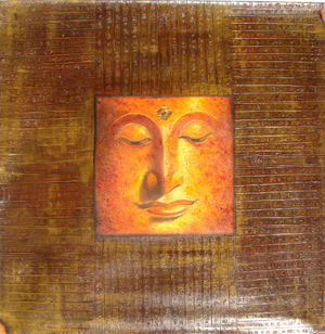 Name : Budha Face on Stone Tablet