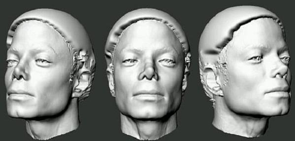 Michaels Nose Michael Jackson 3D Face Scan