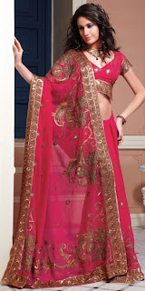 Pre Wedding Functions Sarees for Mehndi Haldi Sangeet