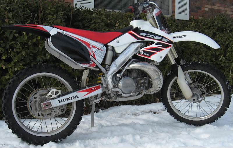 2001 Honda CR250 Graphics