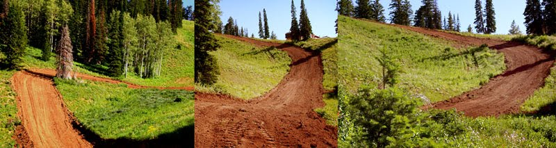 Powder Mountain Motocross Track