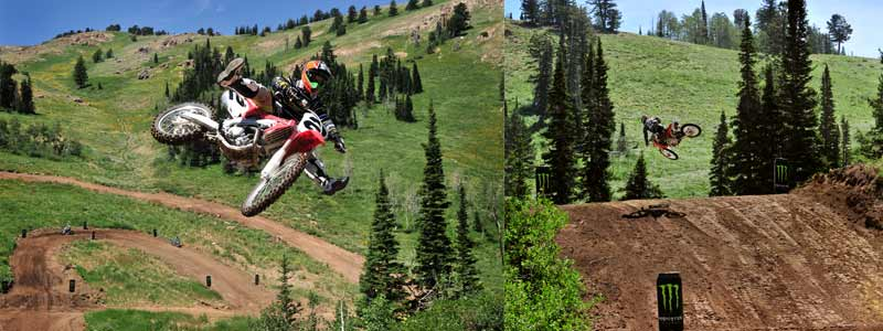 Powder Mountain Motocross Track, McGrath