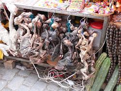 Llama Fetuses, Witch Market, La Paz