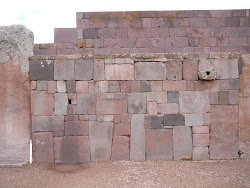 Wall detail, Tiwanaku (massive blocks, no mortar, no joints)