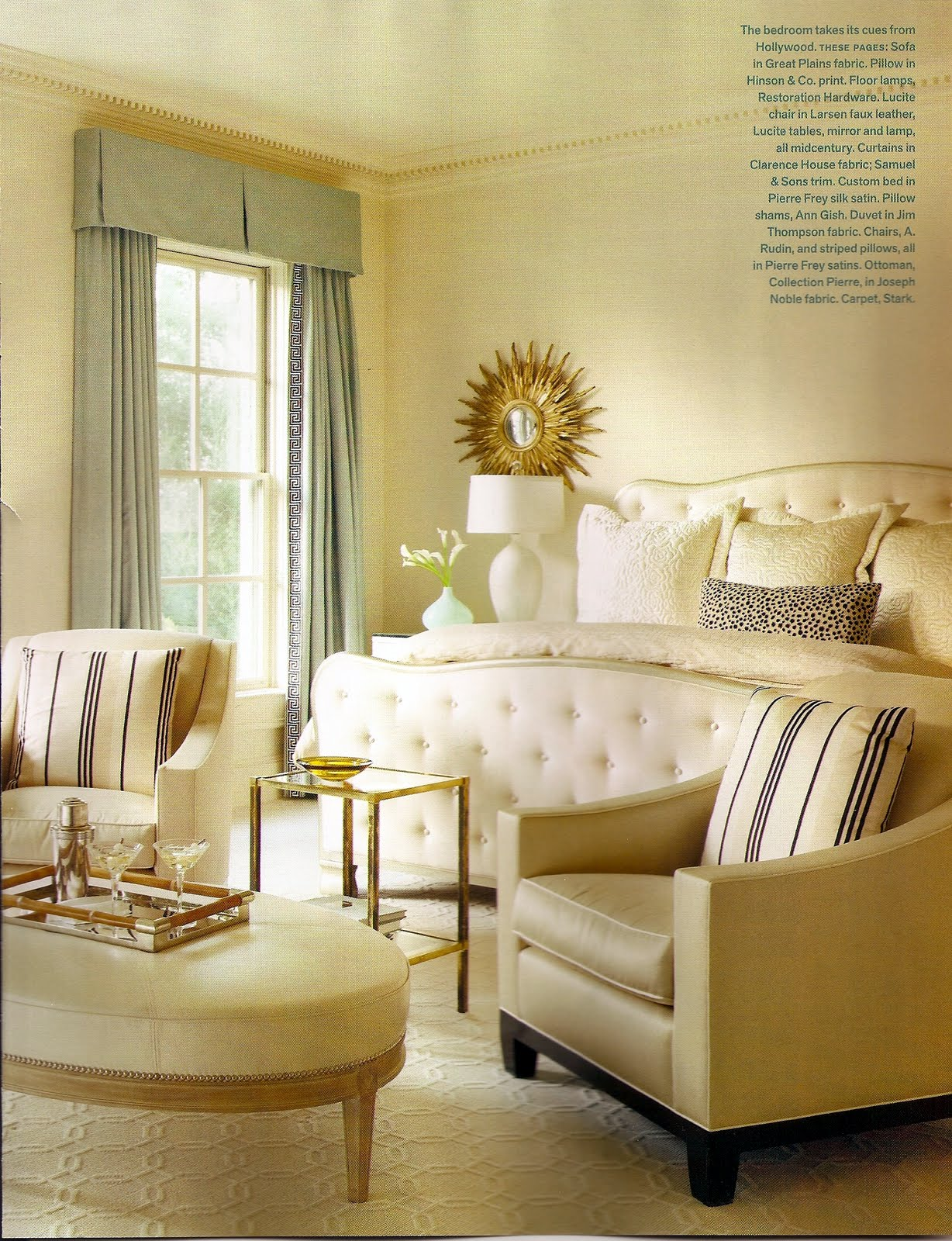hollywood glam bedroom belclaire house