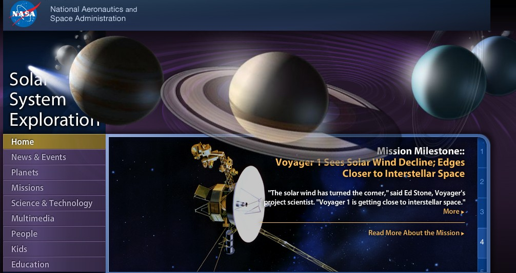 Educational Technology Guy: NASA - Solar System Exploration