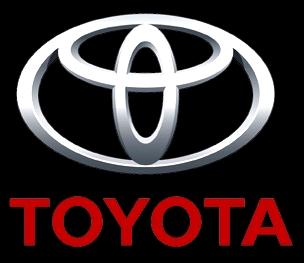 Toyota logo black