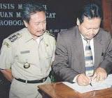 Bupati Bambang Pudjiono SH