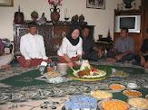 H.Dyah Bambang Pudjiono SH,Potong Tumpeng Syukuran