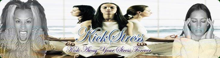 Kick Stress - stress relief information