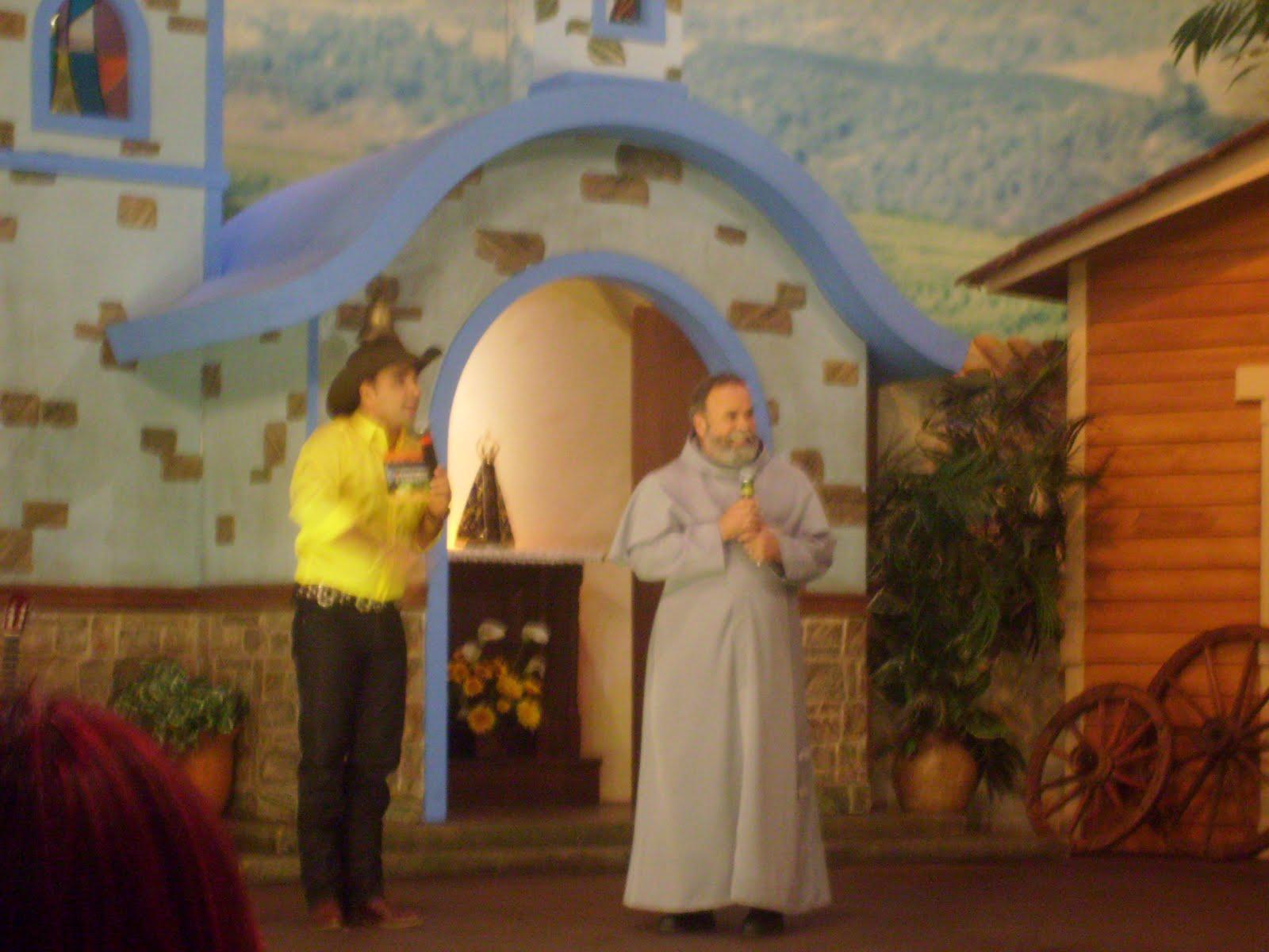 Artesanato Util Em Tecido ~ Pascom da Diocese de Caraguatatuba Gravaç u00e3o nos estudios da TV Aparecida