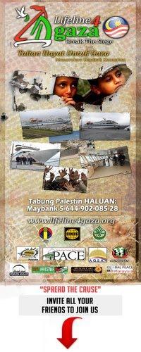 LiFeLiNe4Gaza...Talian Hayat Untuk Gaza...