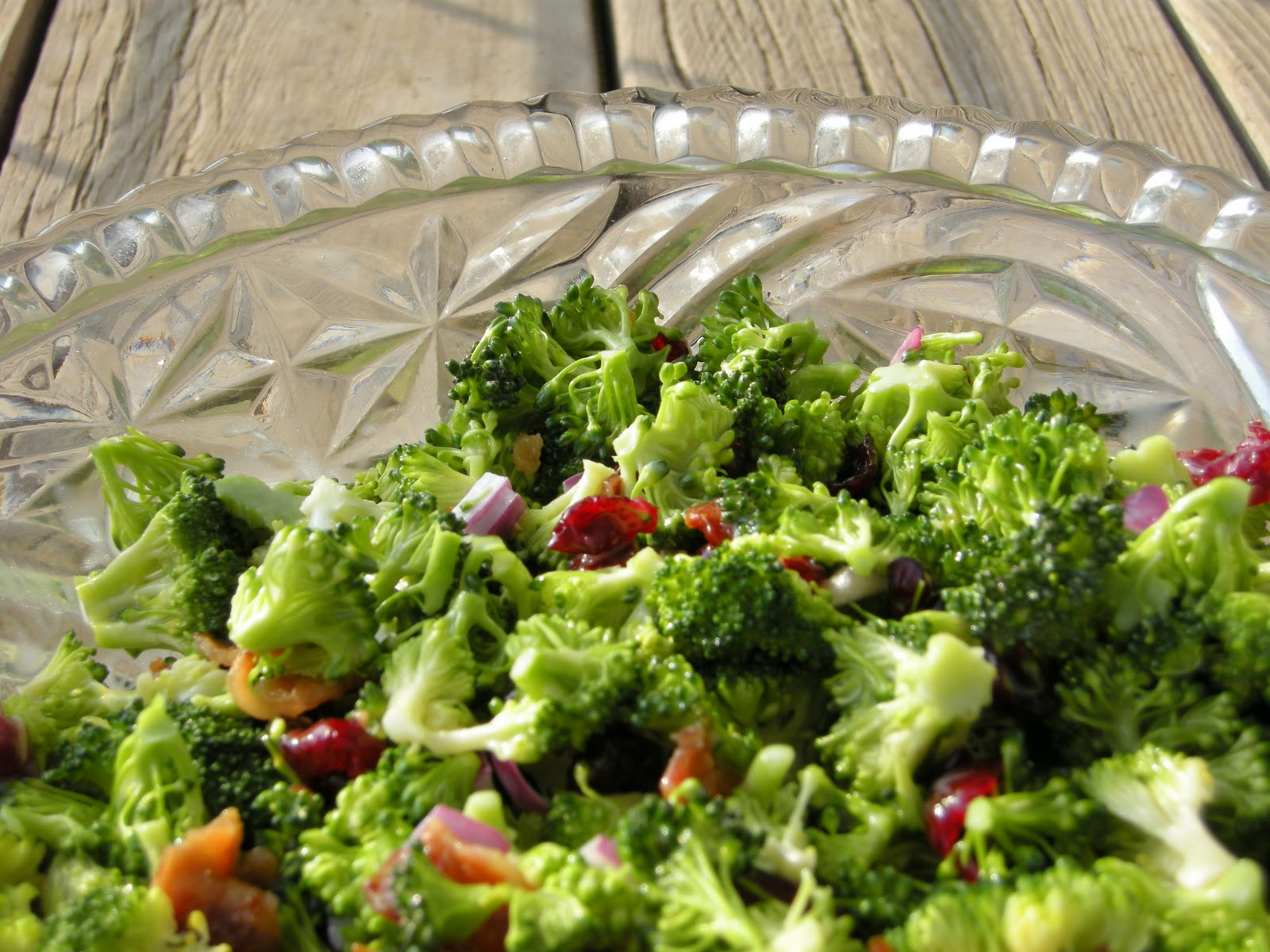 The Pink Cowgirl: Classic Broccoli Salad