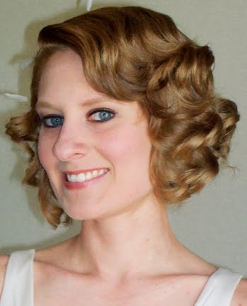 wedding hairstyles 1930 Cute quiff and co