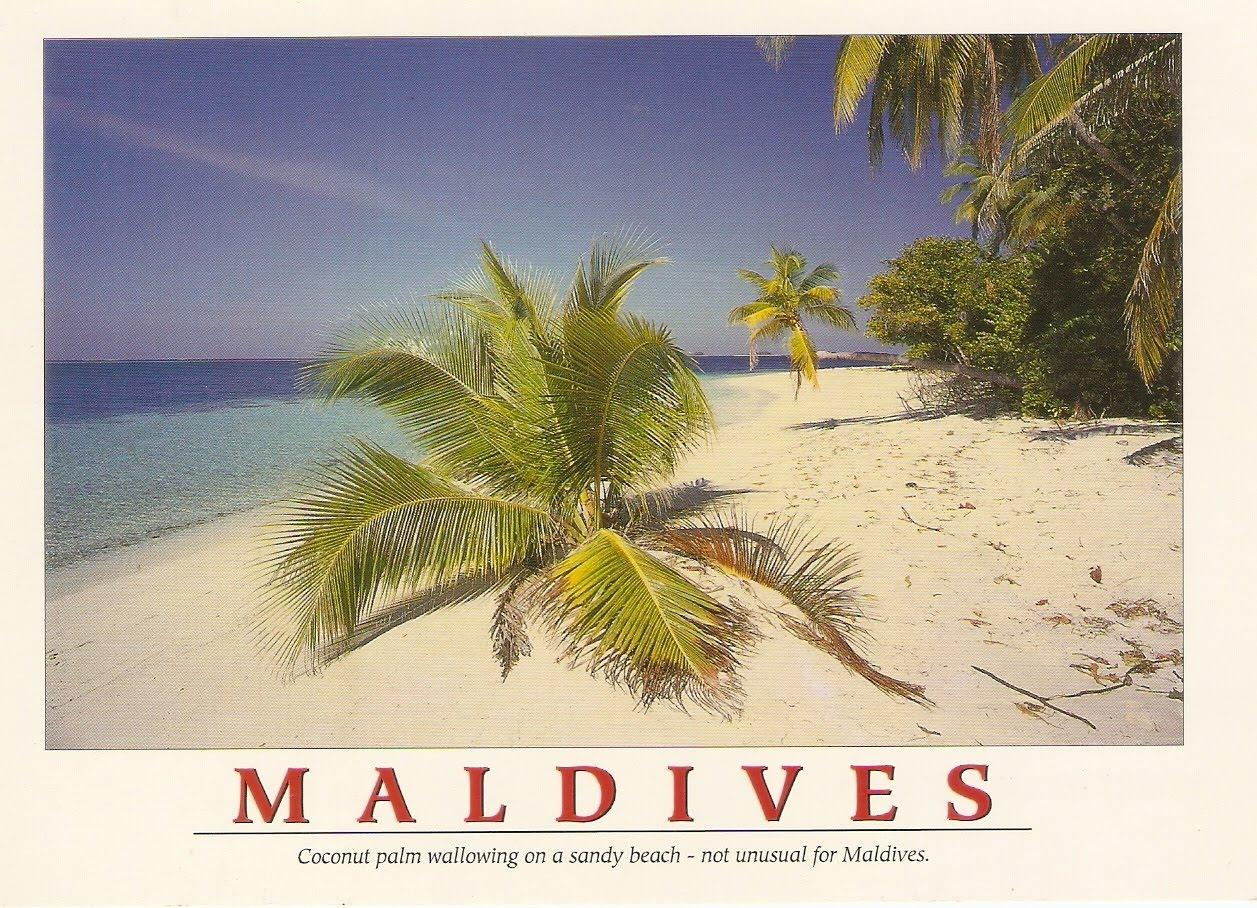 Postcard A La Carte: Maldives (for special trade)