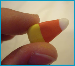 Candy+Corn+Beads+6 Polymer Clay Candy Corn Beads by Candace Jedrowicz