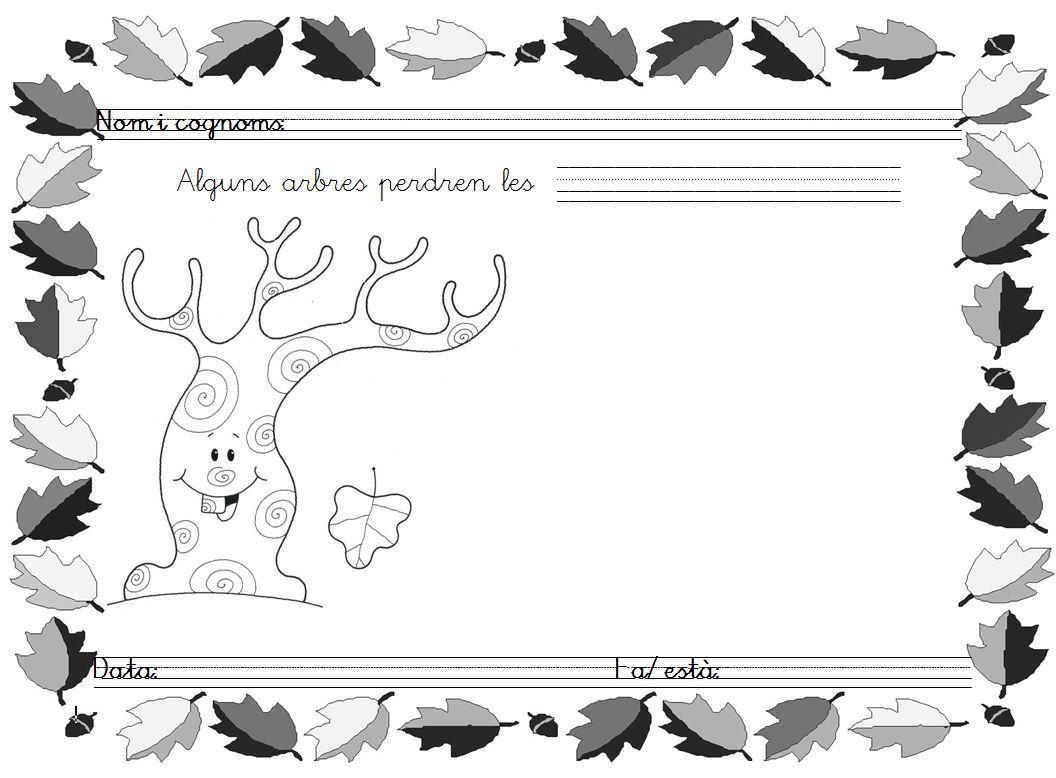 Mi grimorio escolar en oto o los rboles pierden las for Como se llaman los arboles que no pierden sus hojas