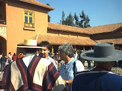 Fiesta de la Vendimia en la Casa Marin. Chile