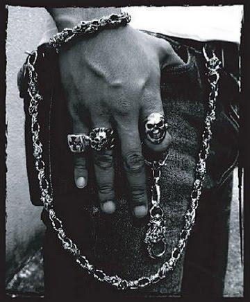 bijoux biker rock and roll