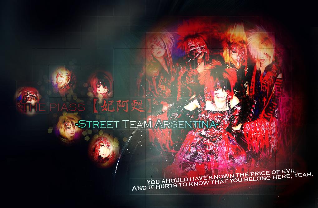 THE PIASS【妃阿甦】-Street Team Argentina-