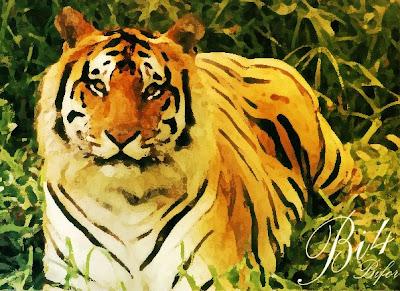 Irsyad Muhammad: Tutorial Photoshop-Lukisan Macan Menggunakan Filter