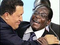Chávez y Mugabe, reunión cumbre de dictadores