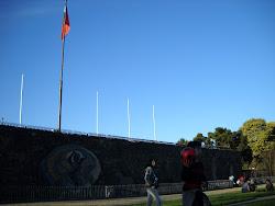 Mural Parque Monumental Bernardo O'Higgins
