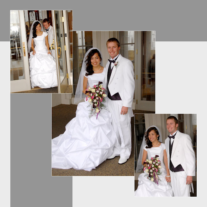 OUR WEDDING PICTURES FINALLY CAME!!! YAY!! These are jux a few....