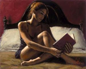 La pintura que inicia librosyaguardientes es del pintor argentino Fabián Pérez
