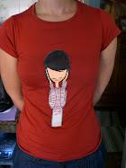 160.  camiseta pintada para mar