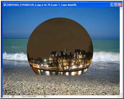 Photoshop tutorials fisheye effect for Fish eye effect