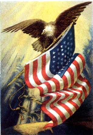 american flag eagle pictures. quot;Flyquot; The American Flag on our