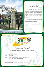 INVITACIÓN A CEREMONIA CENTRAL