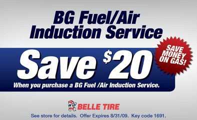 Coupon belle tire