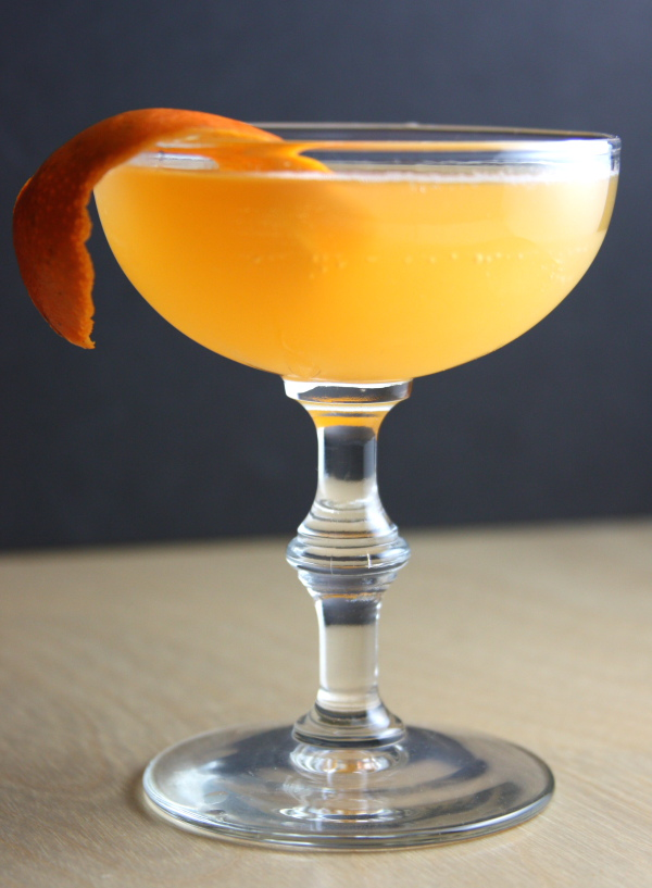 Daddy-O's Martinis: Ward Eight Cocktail