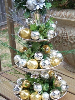 Silver Trappings: Christmas Accent Craft - 12 Weeks of Christmas