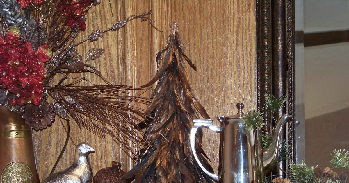 Silver Trappings Thanksgiving Table And Mantel Decorations