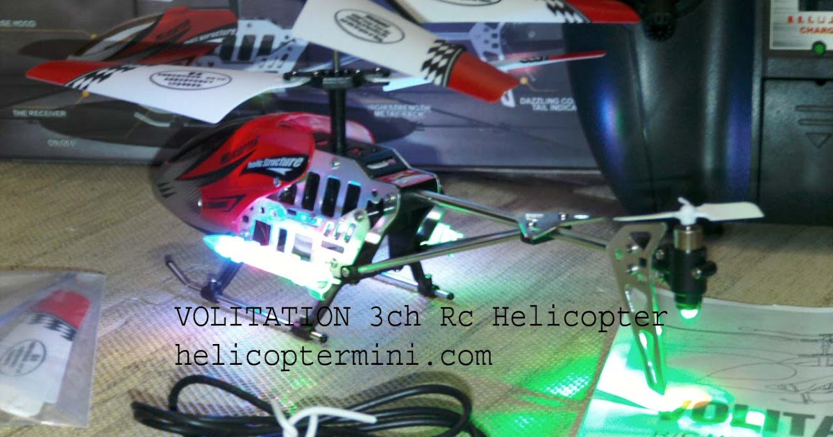 Mainan Remote Kontrol Helicopter Mini: Volitation Rc