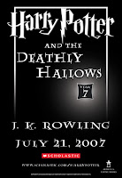 Harry Potter and the Deathly Hallows - JK Rowling - July 21, 2007
