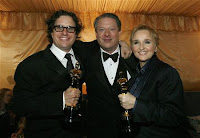 Davis Guggenheim, Al Gore and Melissa Etheridge.