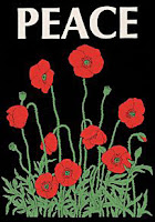 Peace poppies.