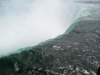 Niagara's edge.