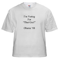 I'm voting for 'That One' - T-shirt design on CafePress.