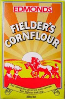Edmonds Fielder's Cornflour packet - iconic kiwi design.