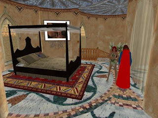 second life - bedroom and porch