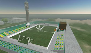 second life - football stadium