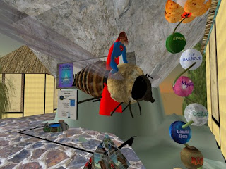 second life animals -bee