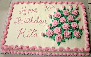 Happy 90th Birthday Rita