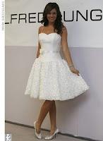 rochie de mireasa scurt 1
