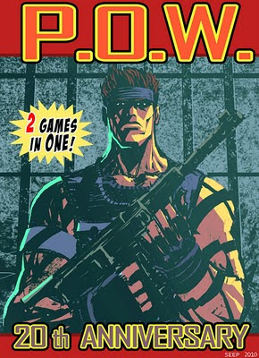 P.O.W. 20th ANNIVERSARY-(Nes version and 2010 version) POWCover